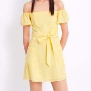 Zara Yellow Mini Dress